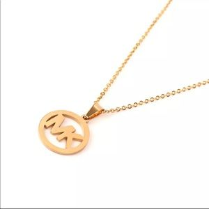 beautiful gold stainless steel necklace for women